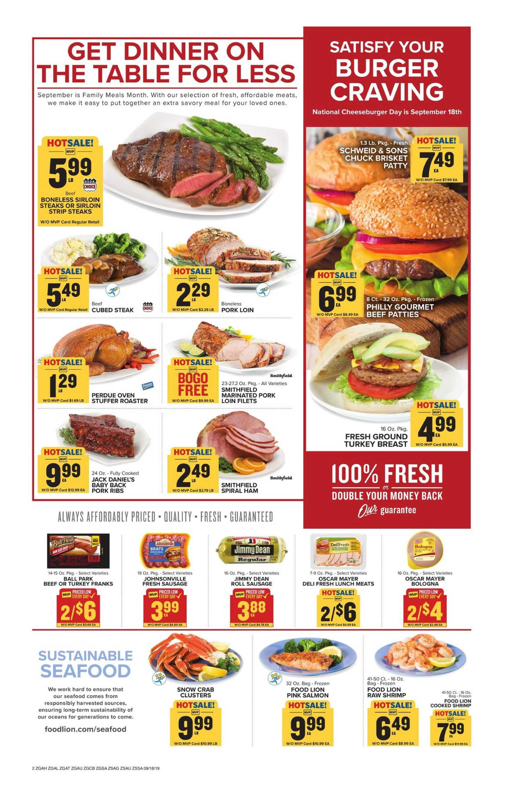 Food Lion - deals are valid from 09/18/19 to 09/24/19 - page 3.