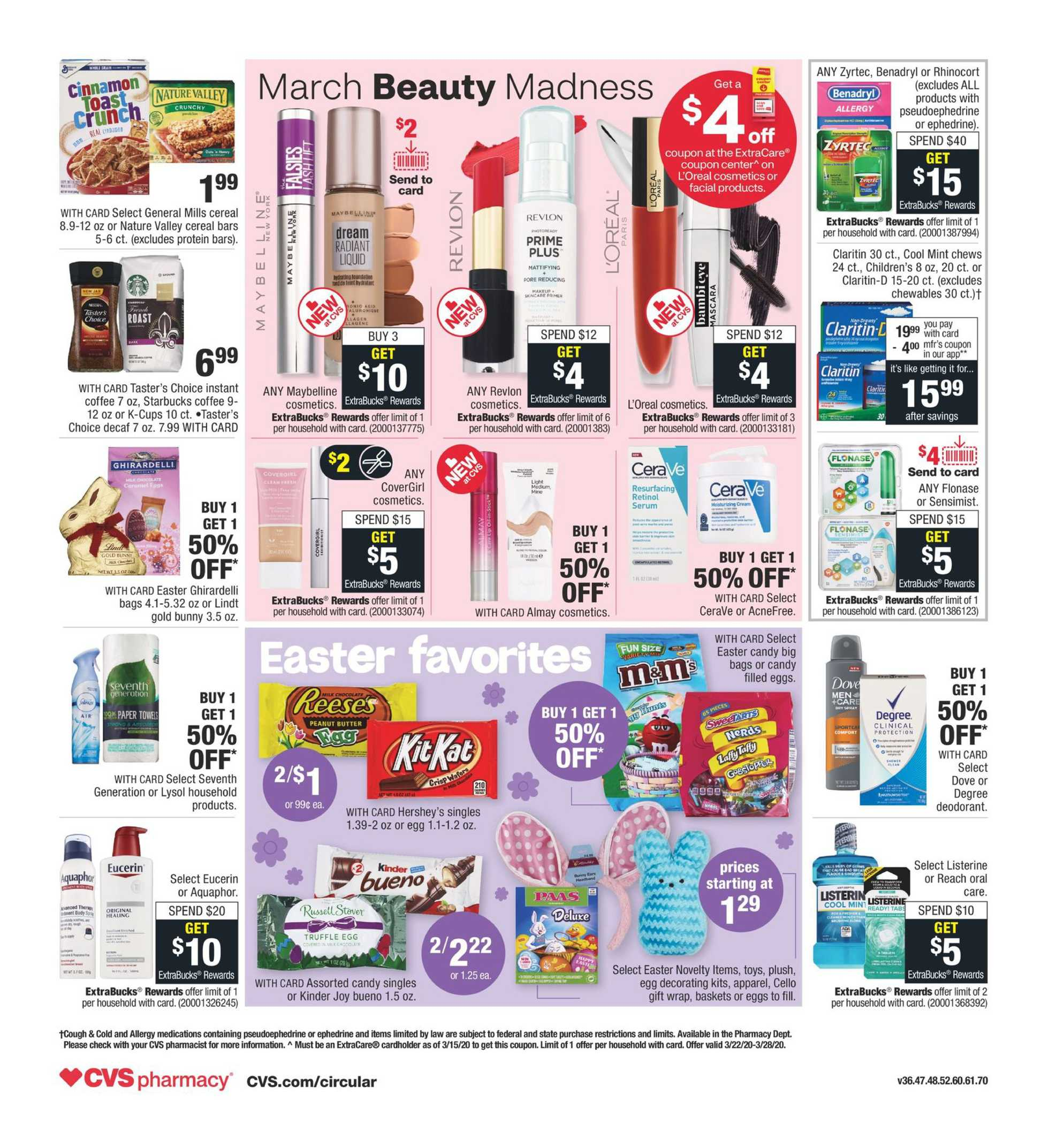 CVS - deals are valid from 03/22/20 to 03/28/20 - page 2.