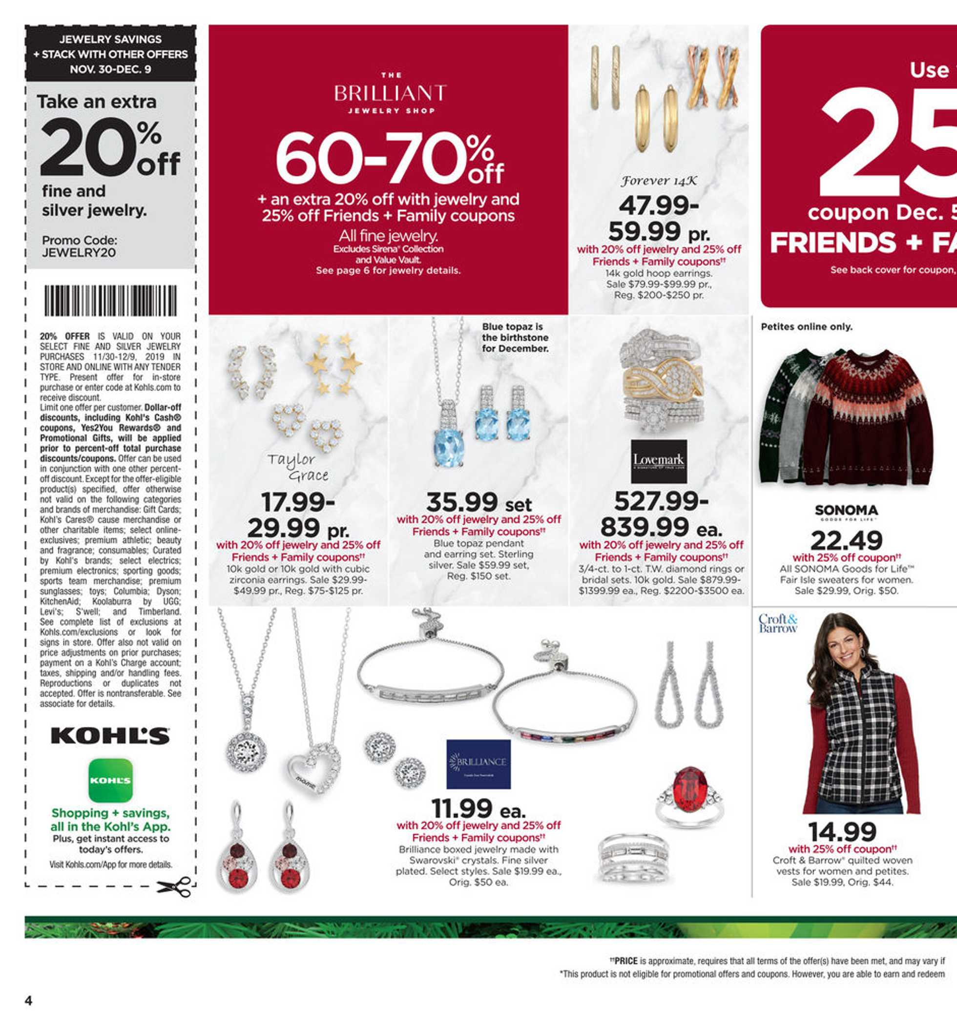 Kohl's - deals are valid from 12/05/19 to 12/09/19 - page 4.