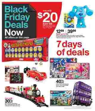 Target - deals are valid from 11/22/20 to 11/28/20 - page 53.