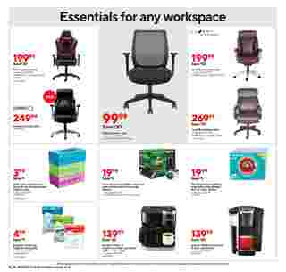 Staples - deals are valid from 10/18/20 to 10/24/20 - page 10.