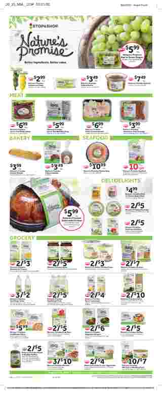 Stop & Shop - deals are valid from 08/07/20 to 08/13/20 - page 11.
