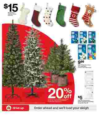 Target - deals are valid from 11/22/20 to 11/28/20 - page 30.