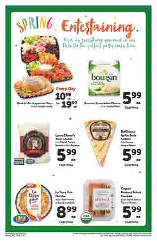 Safeway - deals are valid from 04/03/19 to 04/30/19 - page 10.