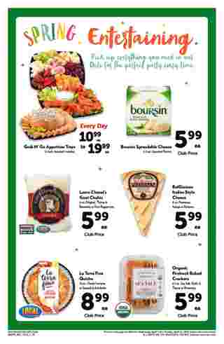 Safeway - promo starting from 04/03/19 to 04/30/19 - page 10.