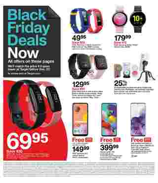 Target - deals are valid from 11/22/20 to 11/28/20 - page 8.