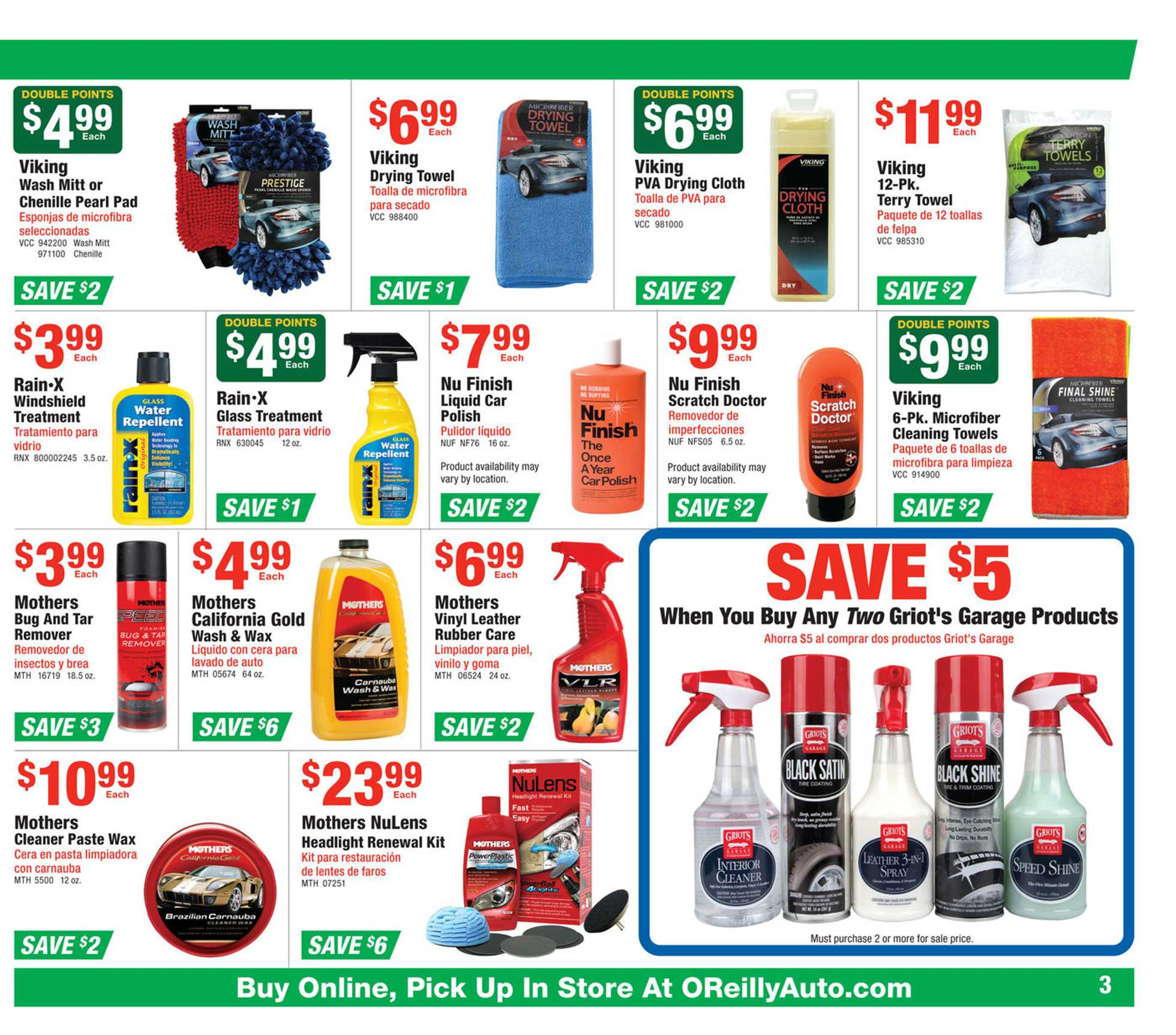 O'reilly - deals are valid from 05/27/20 to 06/23/20 - page 3.