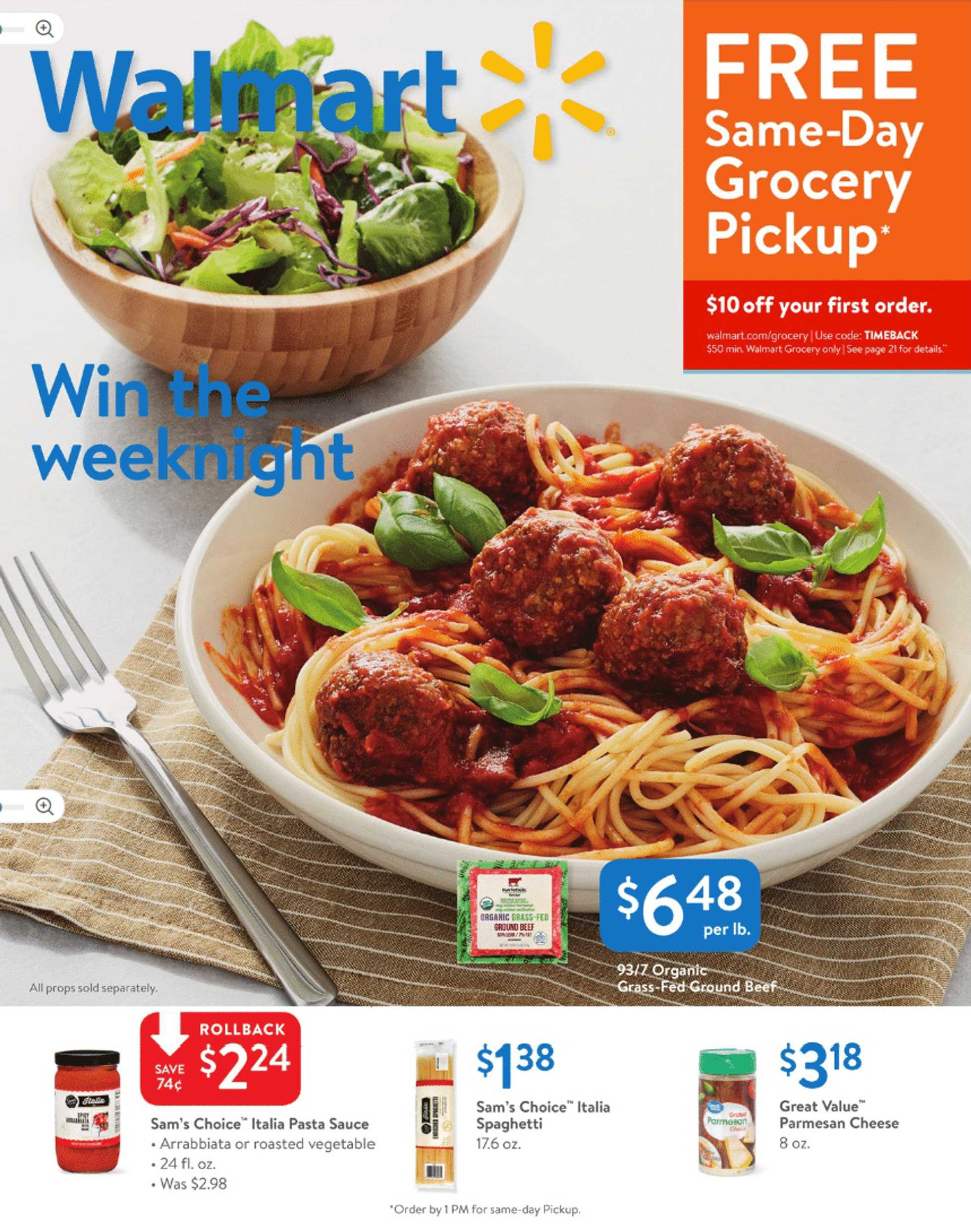 Walmart - deals are valid from 03/17/19 to 03/28/19 - page 1.