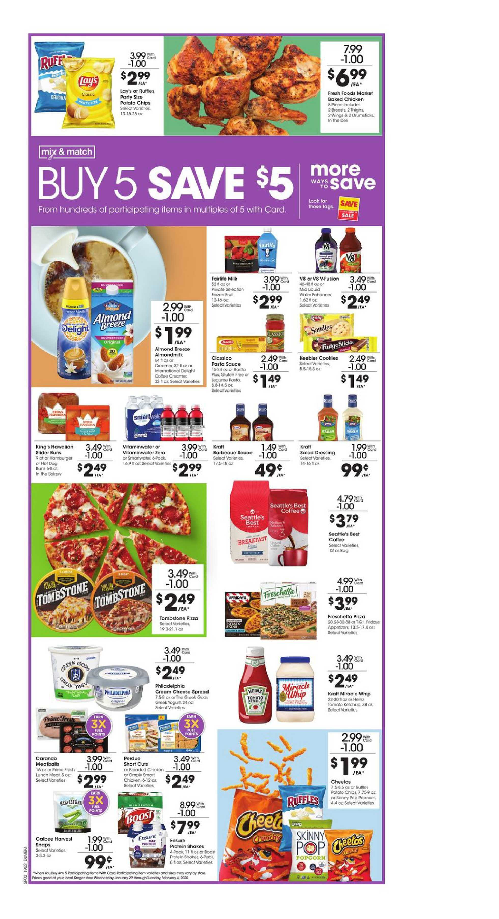 Kroger - deals are valid from 01/29/20 to 02/04/20 - page 3.