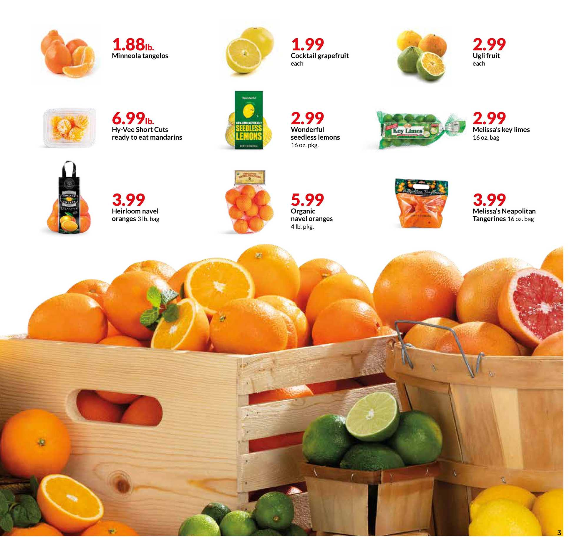 Hy-Vee - promo starting from 01/22/20 to 01/28/20 - page 3.