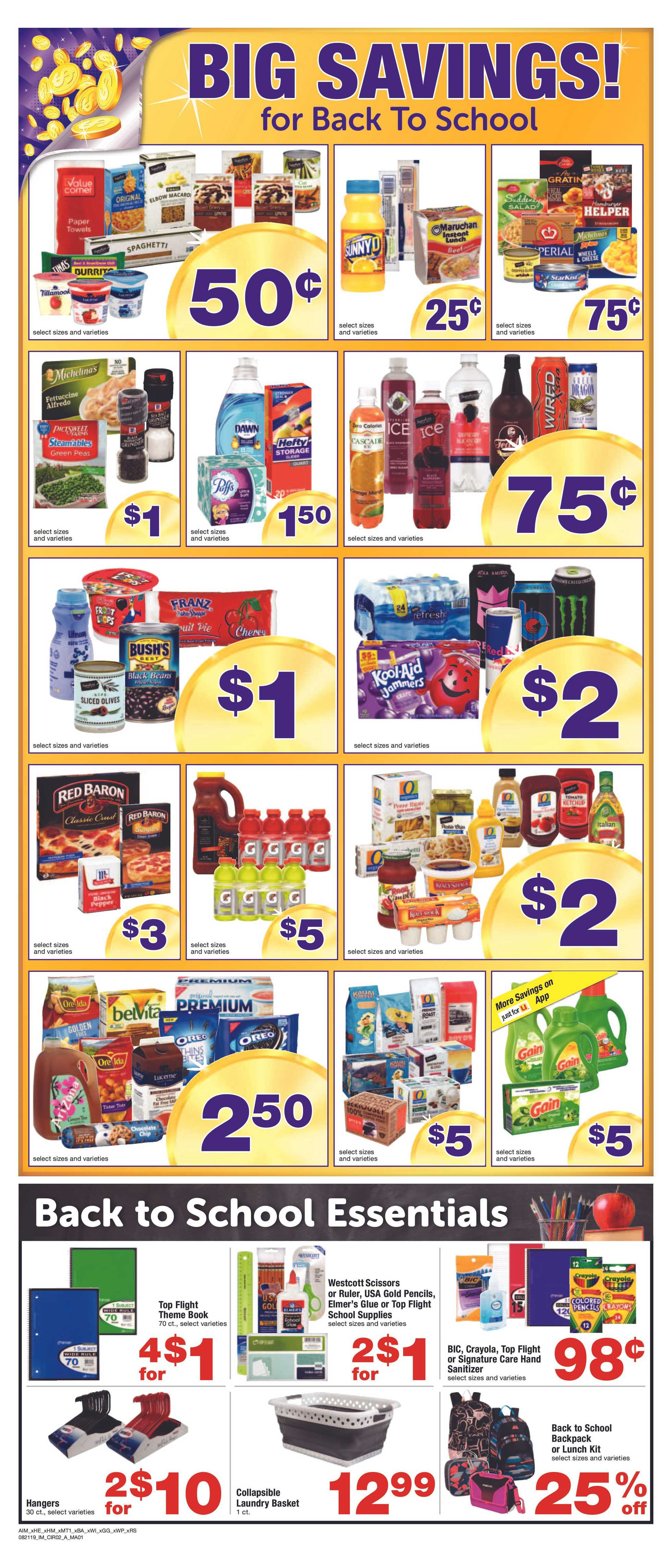 Albertsons - deals are valid from 08/21/19 to 08/27/19 - page 3.