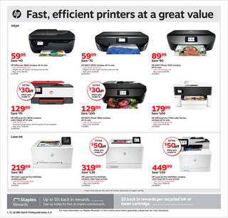 Staples - deals are valid from 01/12/20 to 01/18/20 - page 5.