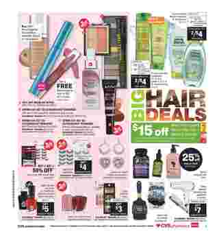 CVS - deals are valid from 03/22/20 to 03/28/20 - page 7.
