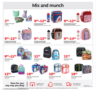 Staples - deals are valid from 08/09/20 to 08/15/20 - page 11.