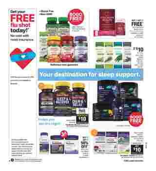 CVS - deals are valid from 11/01/20 to 11/07/20 - page 15.
