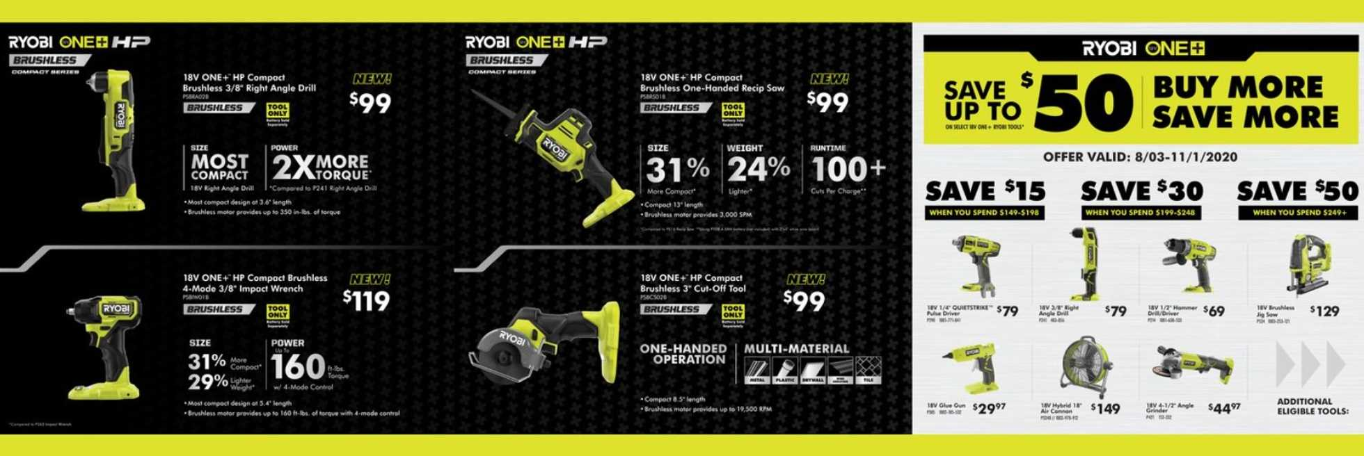 The Home Depot - deals are valid from 10/01/20 to 11/01/20 - page 2.