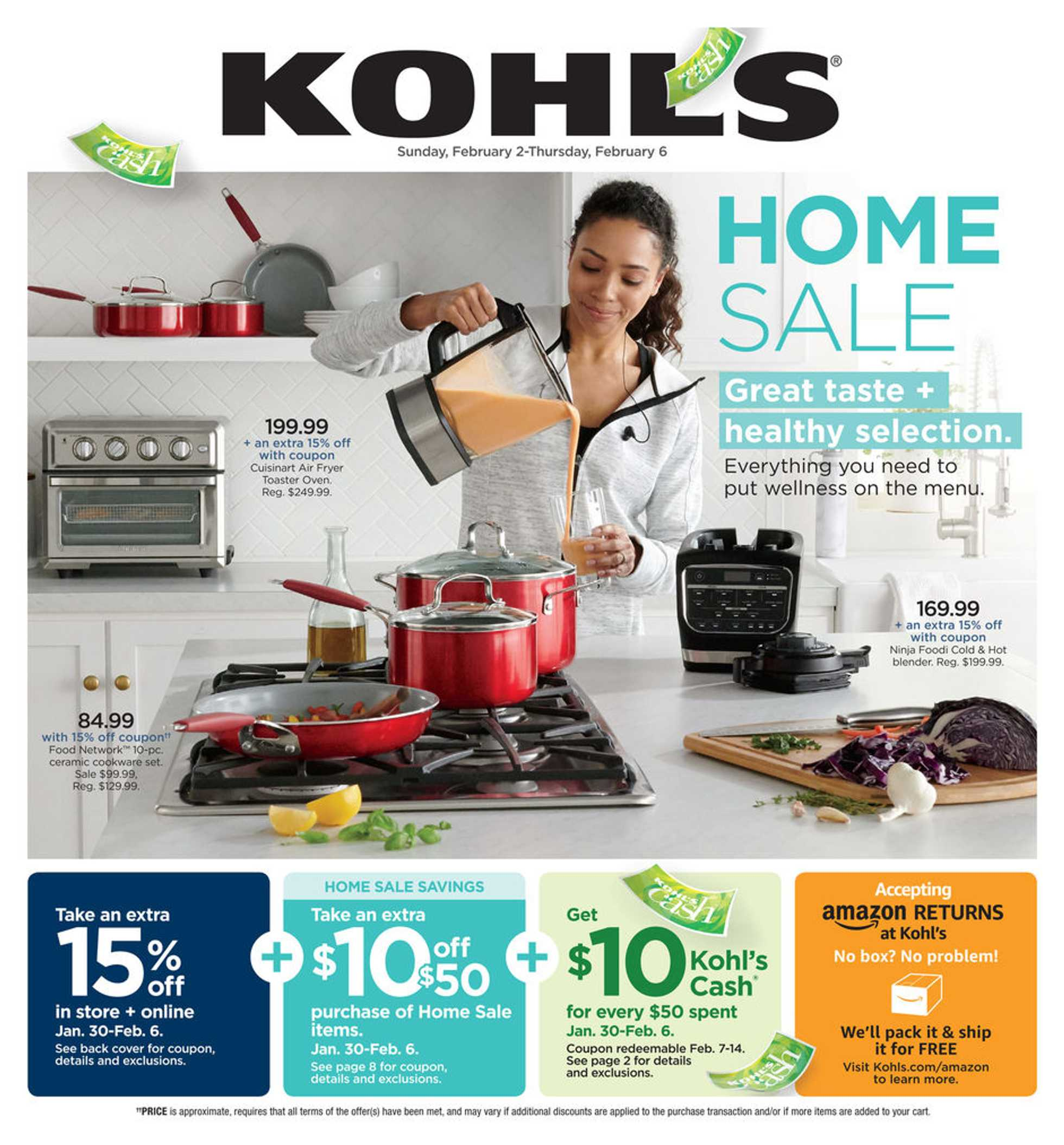 Kohl's - deals are valid from 02/02/20 to 02/06/20 - page 1.