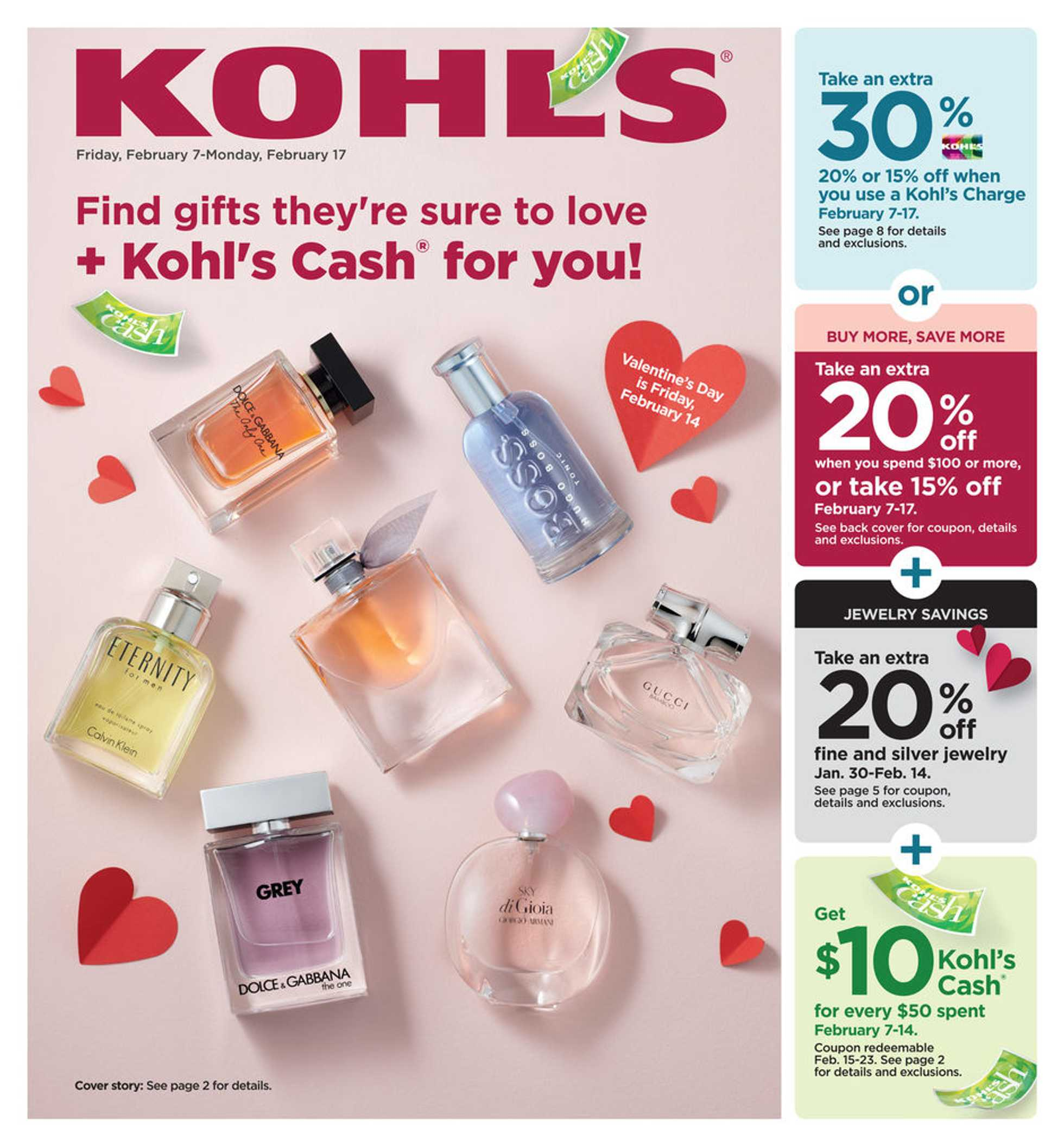 Kohl's - deals are valid from 02/07/20 to 02/17/20 - page 1.