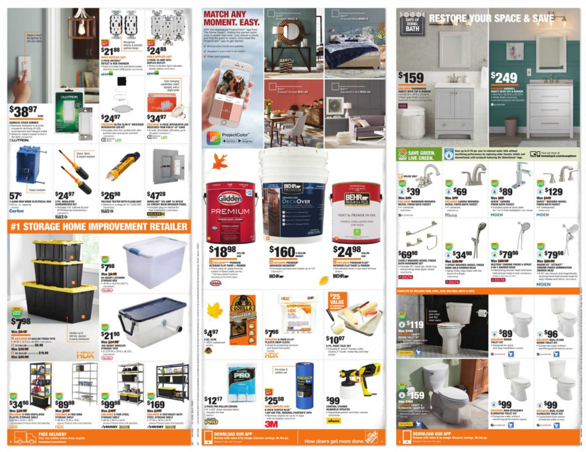 The Home Depot - deals are valid from 08/27/20 to 09/07/20 - page 3.