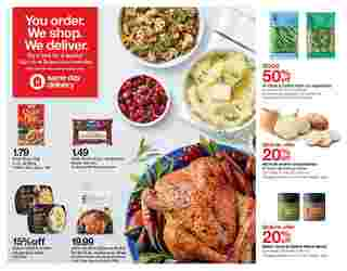 Target - deals are valid from 11/22/20 to 11/28/20 - page 39.