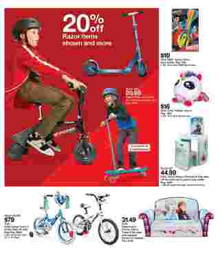 Target - deals are valid from 12/01/19 to 12/07/19 - page 15.
