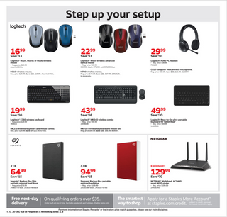 Staples - deals are valid from 01/12/20 to 01/18/20 - page 13.