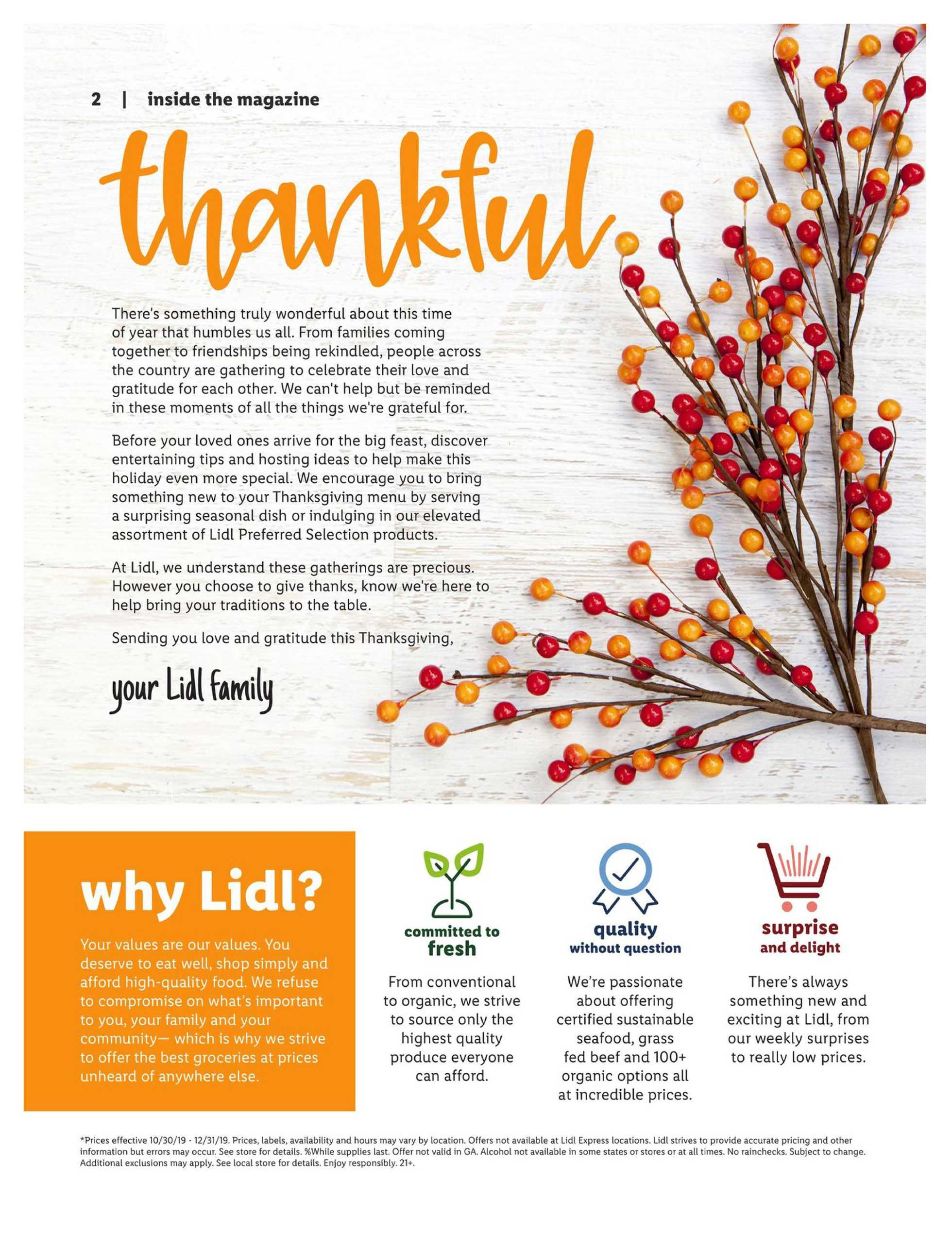 Lidl - promo starting from 10/30/19 to 12/31/19 - page 2.
