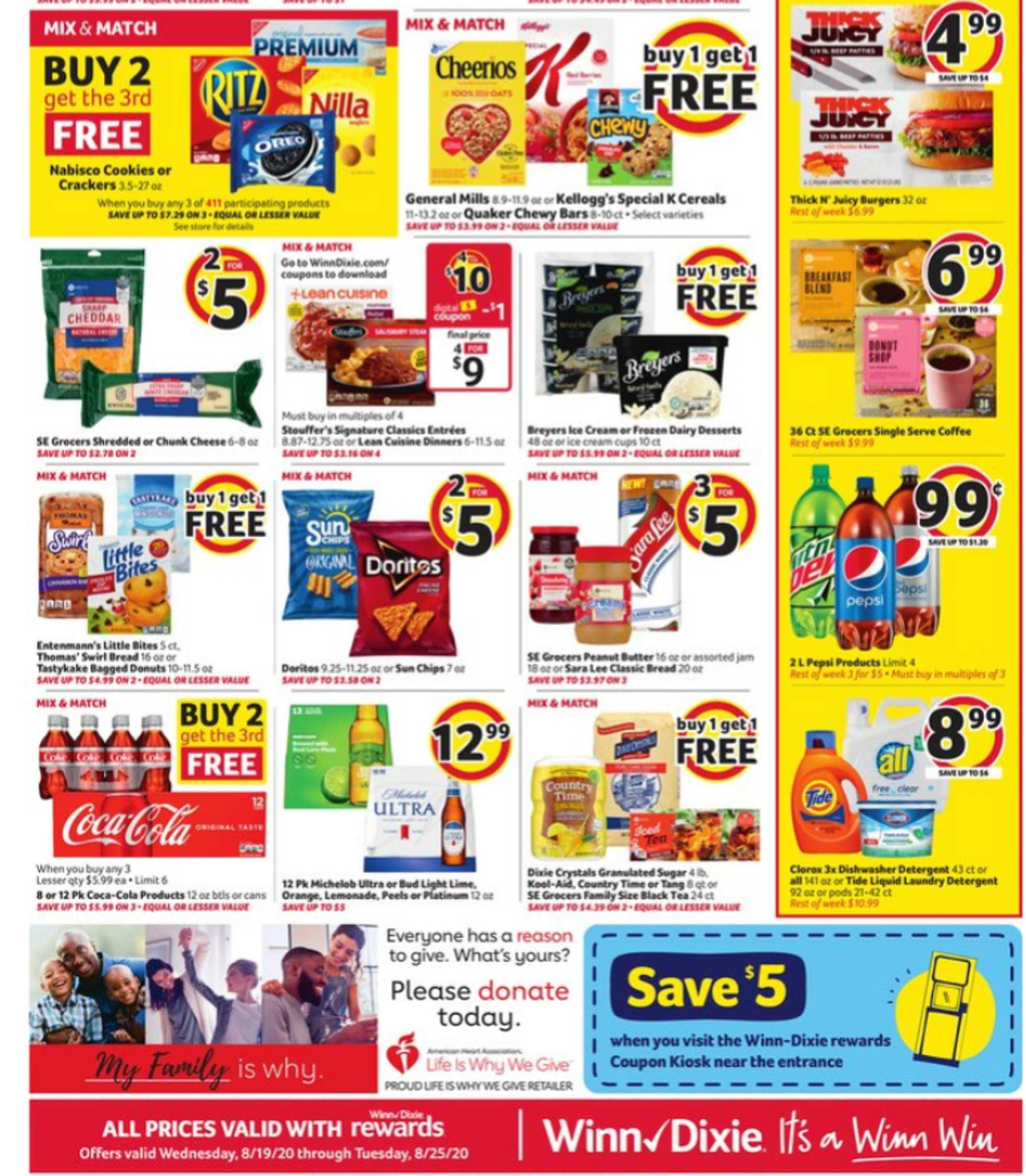 Winn Dixie - deals are valid from 08/19/20 to 08/26/20 - page 2.