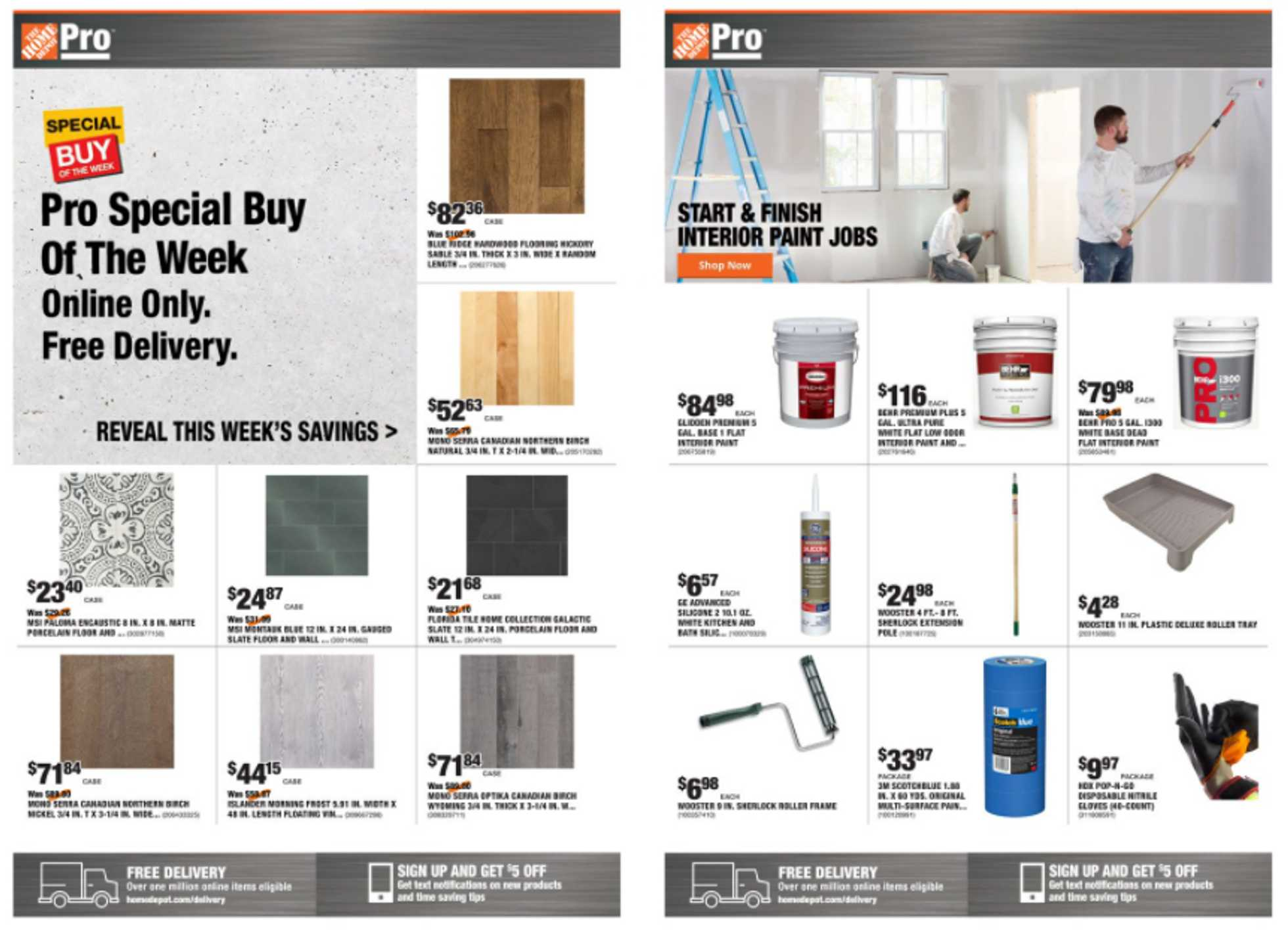 The Home Depot - deals are valid from 09/21/20 to 09/28/20 - page 1.
