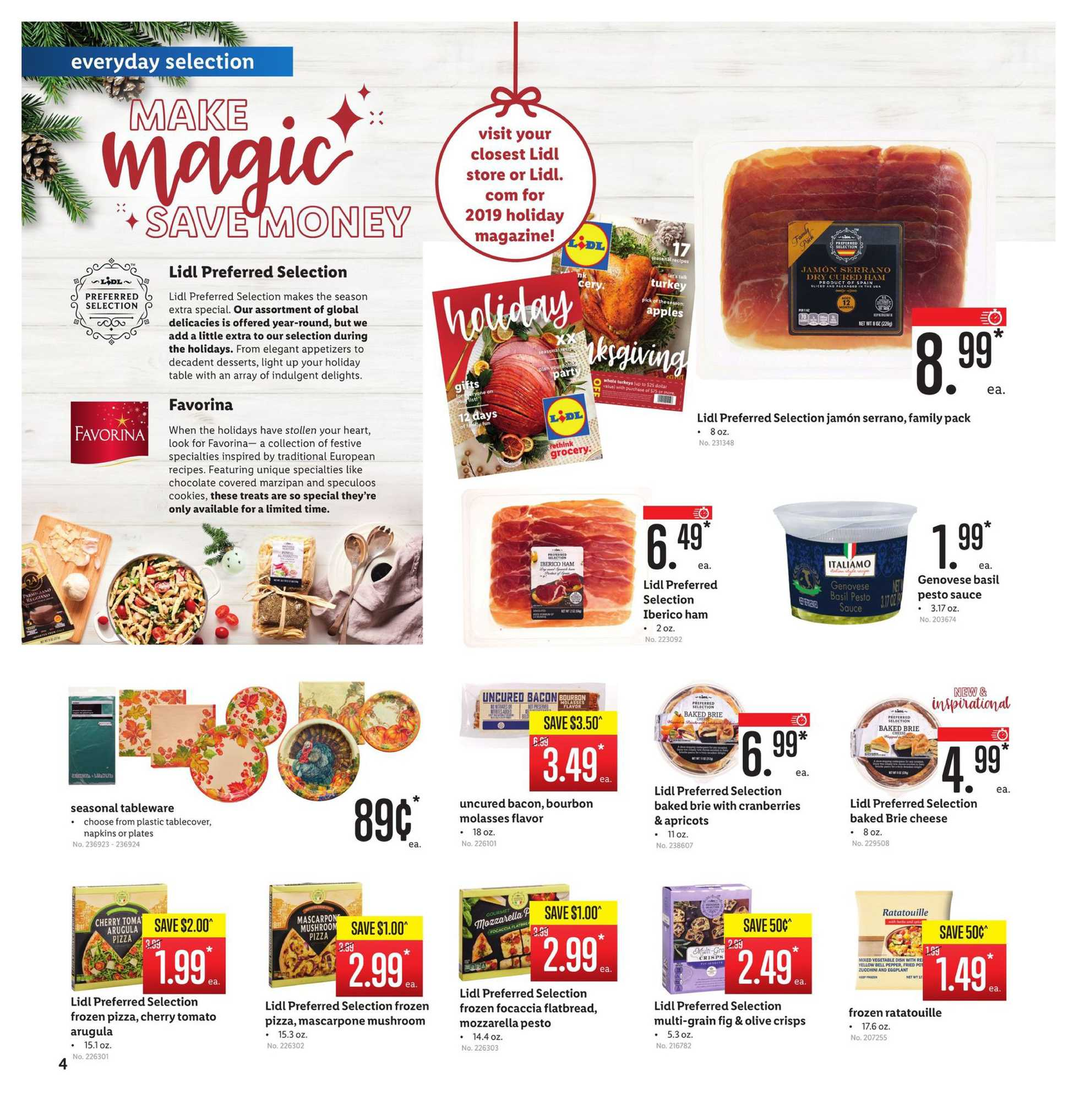 Lidl - deals are valid from 10/30/19 to 11/05/19 - page 4.