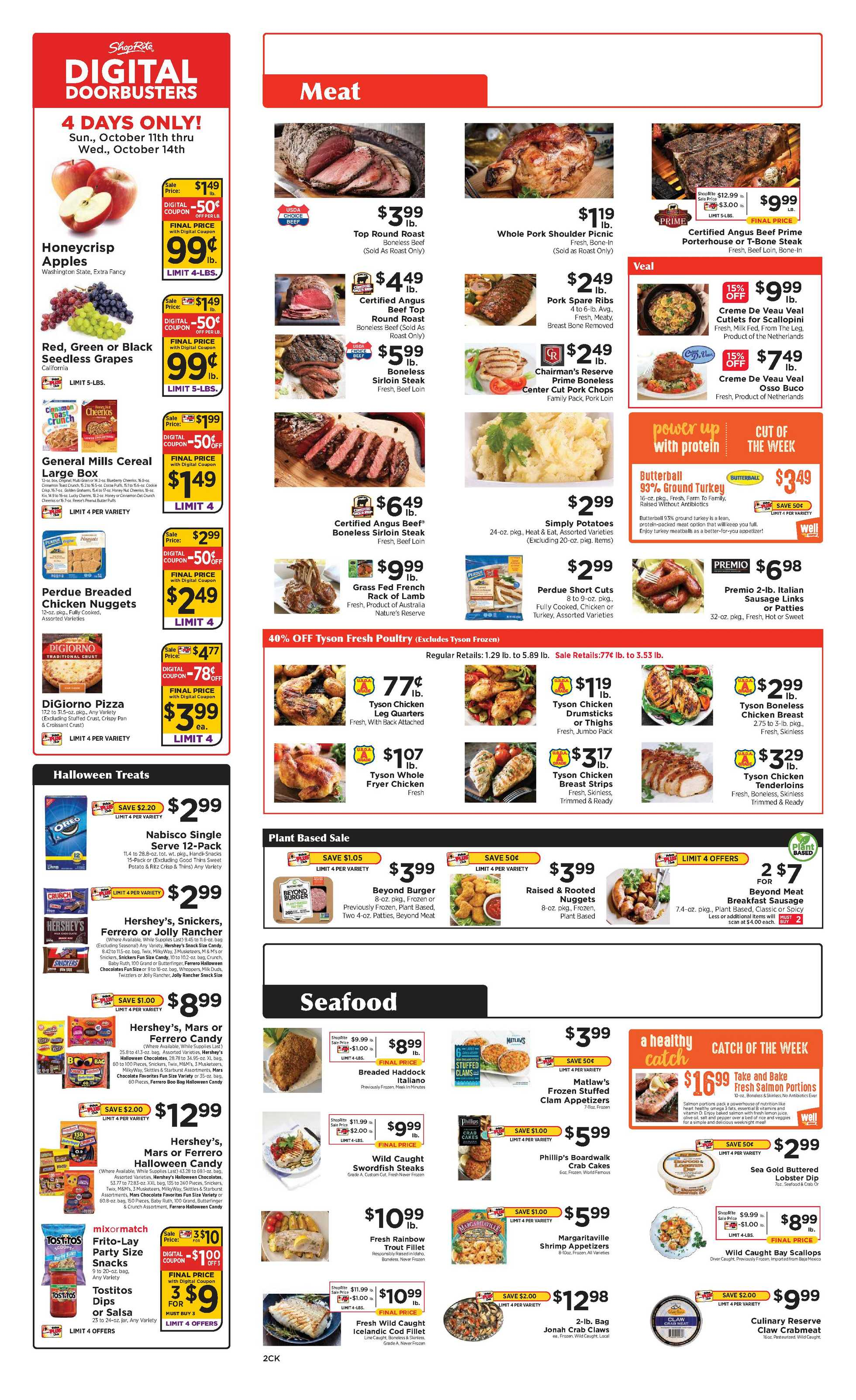 Family Fresh Market - deals are valid from 10/11/20 to 10/17/20 - page 2.