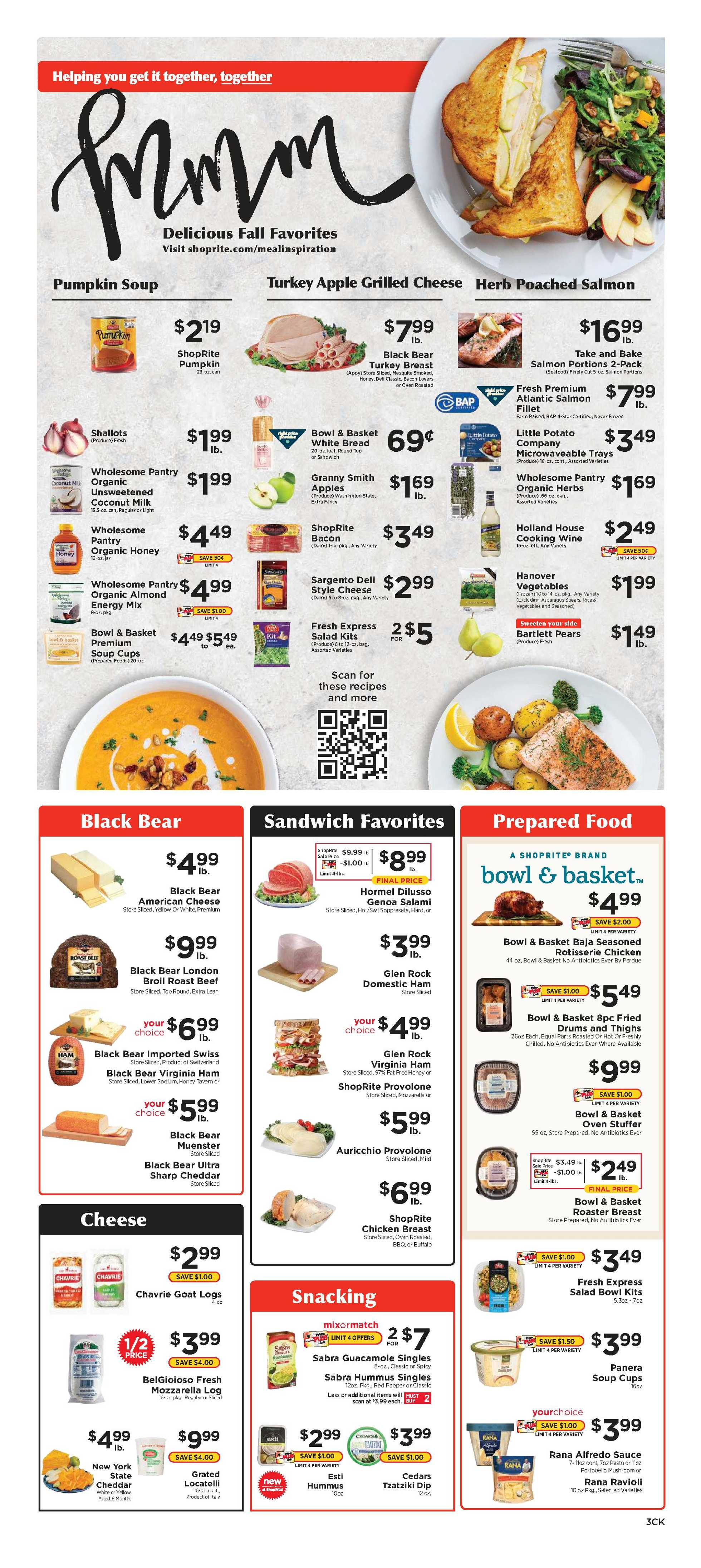 Family Fresh Market - deals are valid from 10/11/20 to 10/17/20 - page 3.
