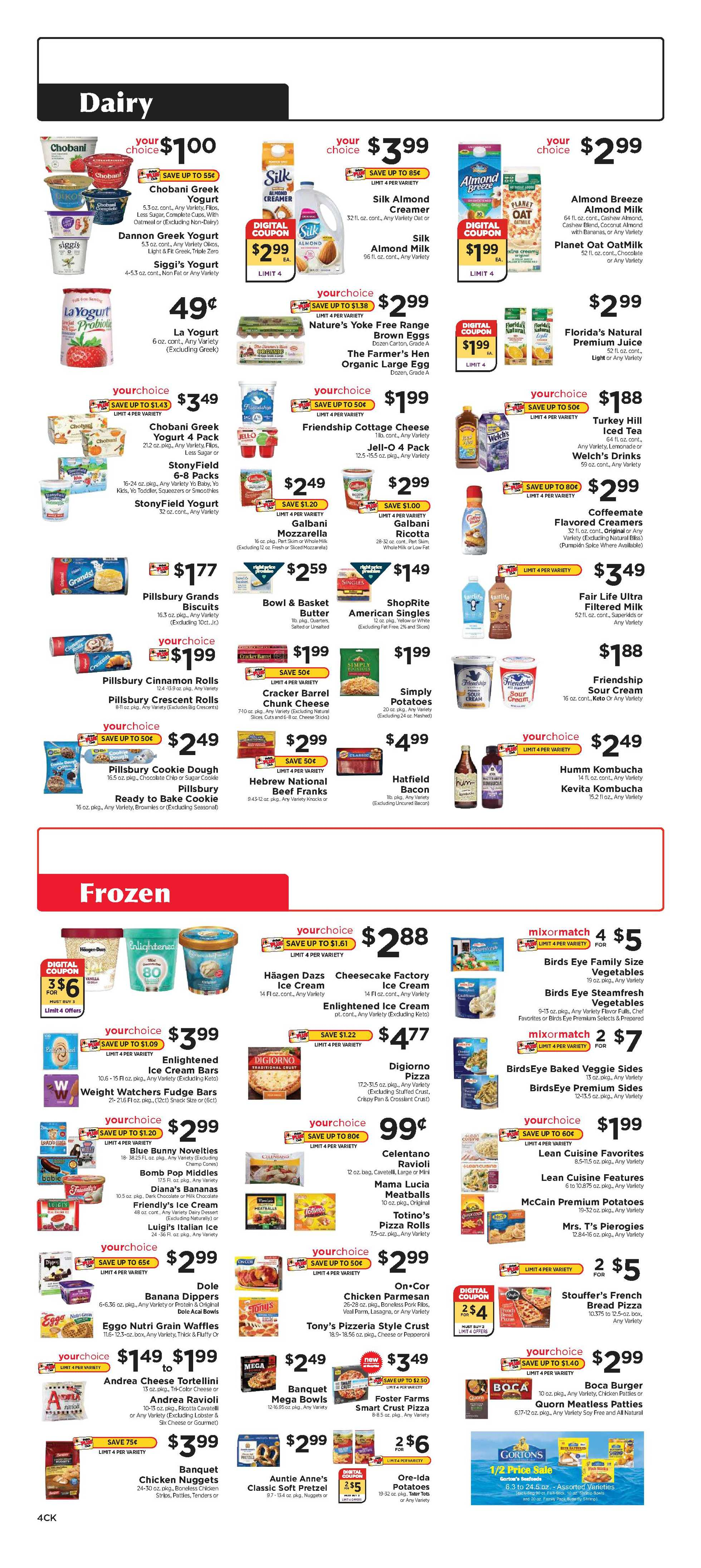 Family Fresh Market - deals are valid from 10/11/20 to 10/17/20 - page 4.