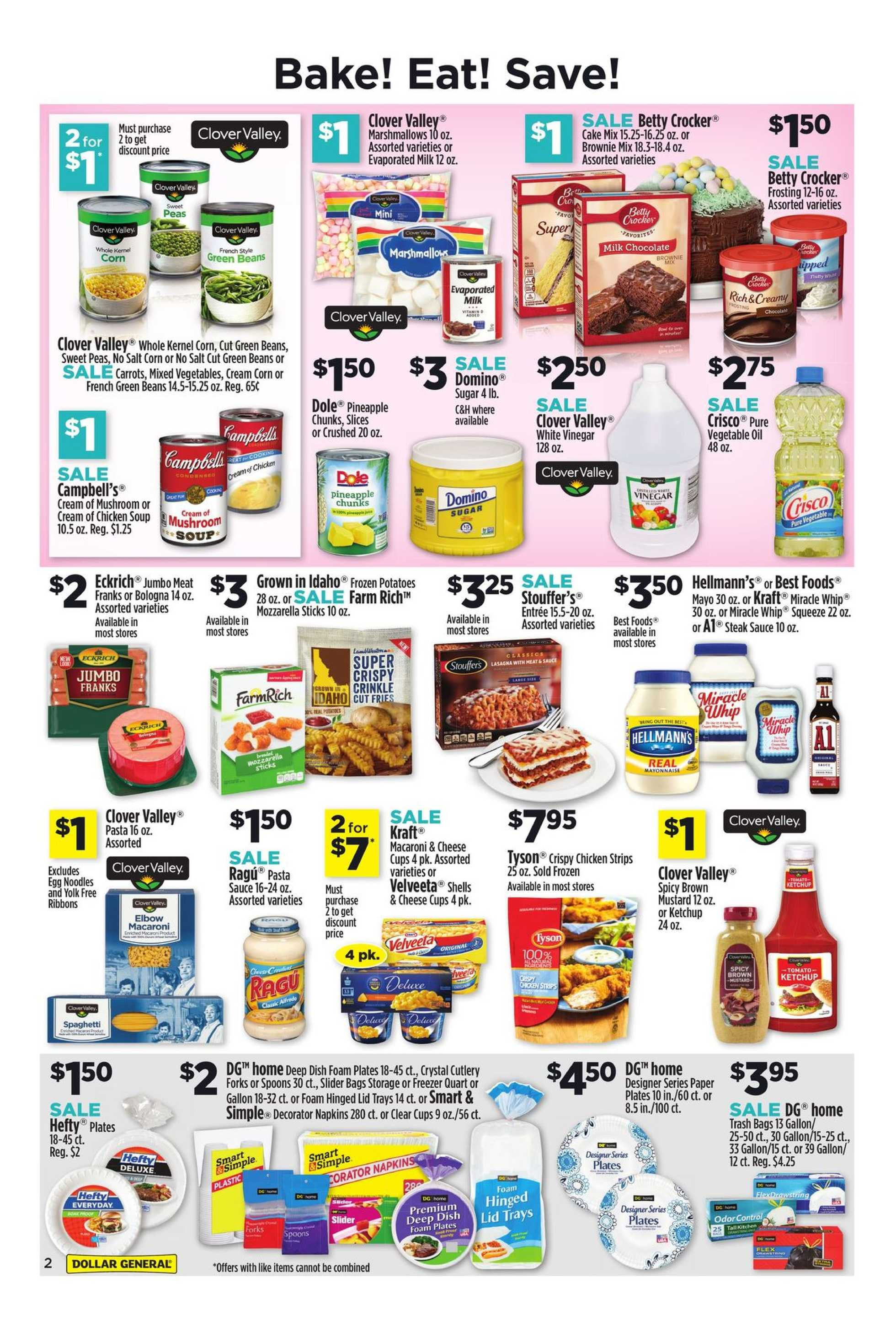 Dollar General - promo starting from 03/24/19 to 03/30/19 - page 4.