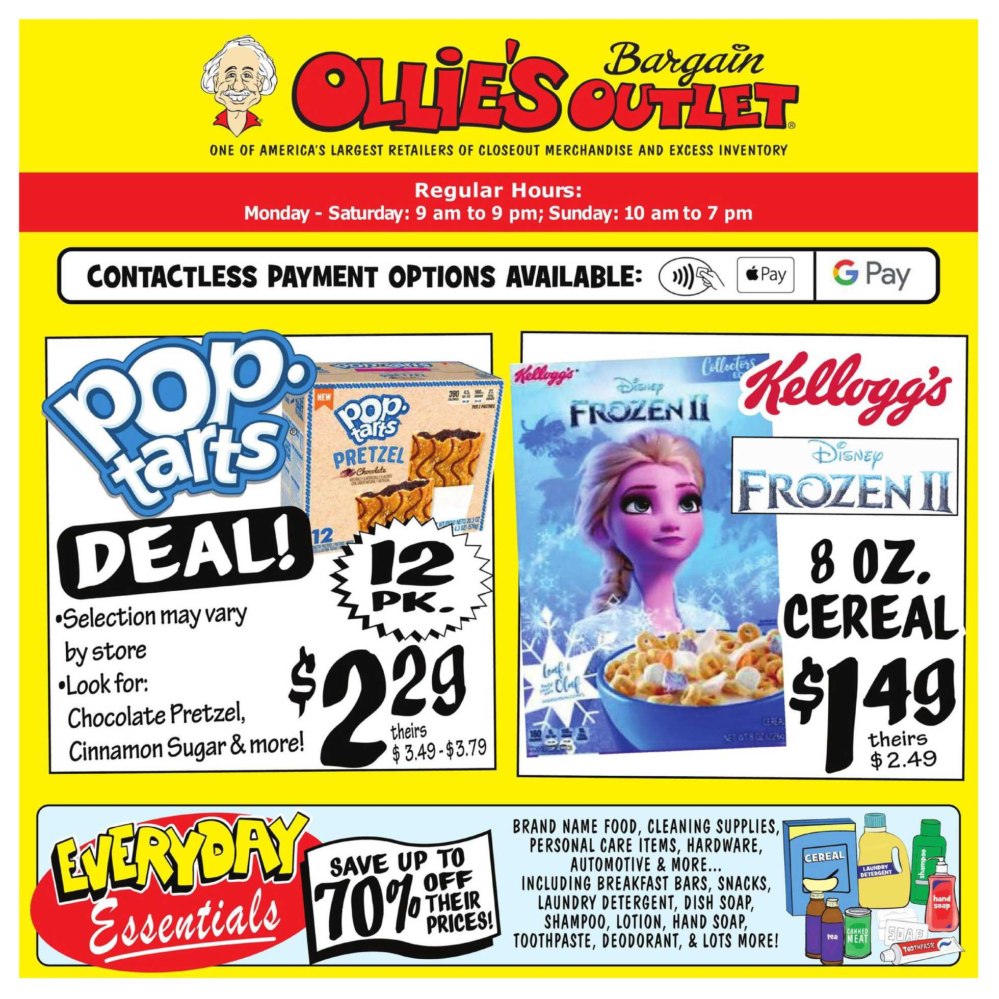 Ollie's Bargain Outlet - deals are valid from 08/06/20 to 08/12/20 - page 1.