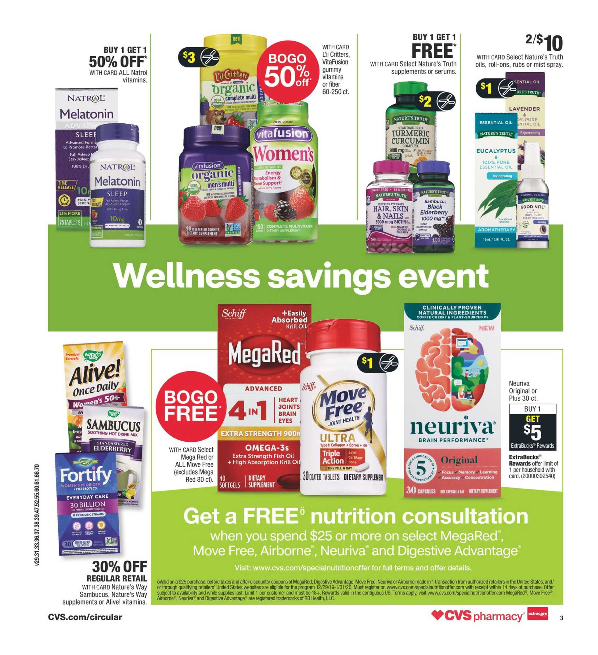 CVS - deals are valid from 01/12/20 to 01/18/20 - page 4.