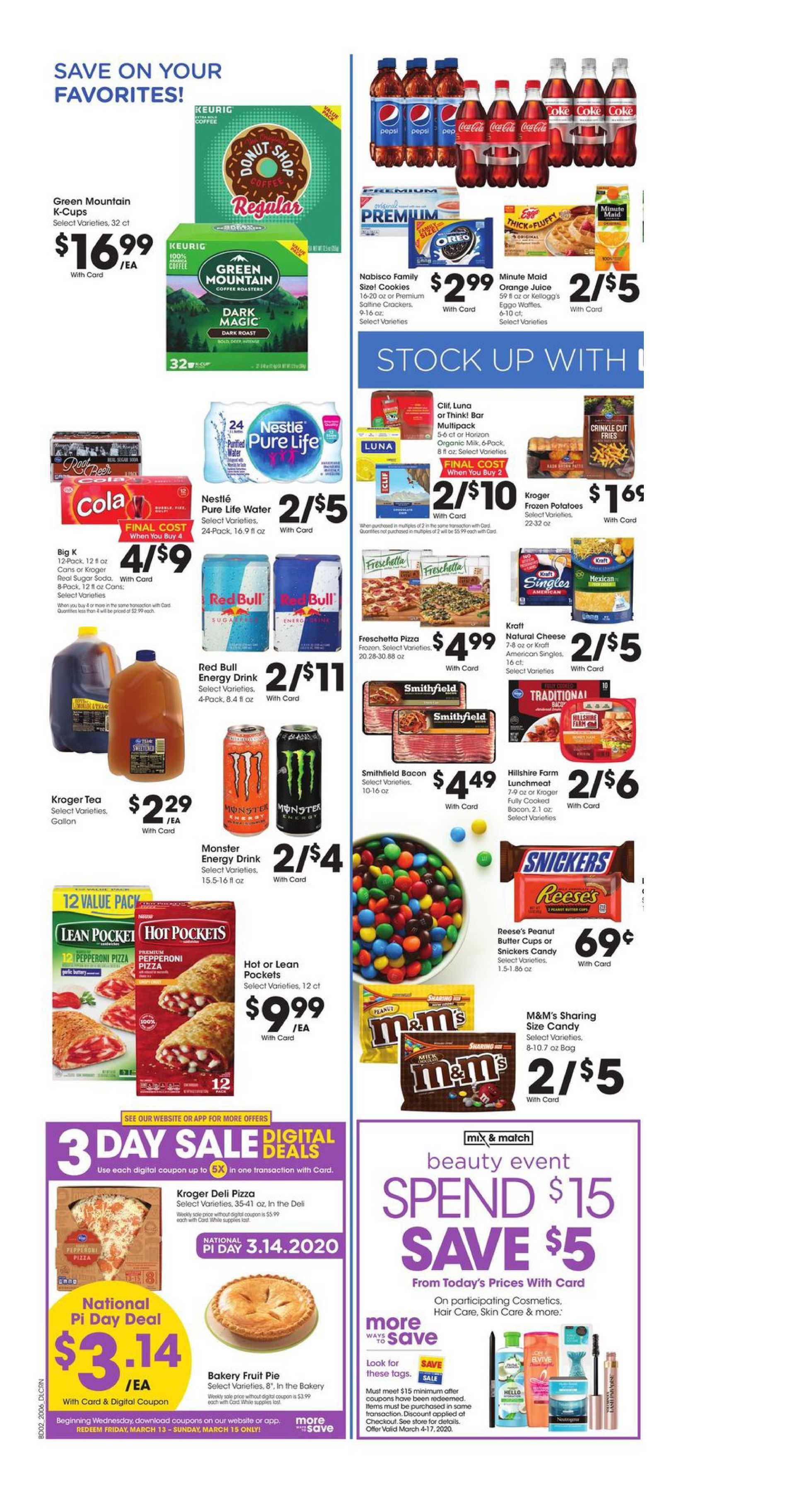 Kroger - deals are valid from 03/11/20 to 03/17/20 - page 4.
