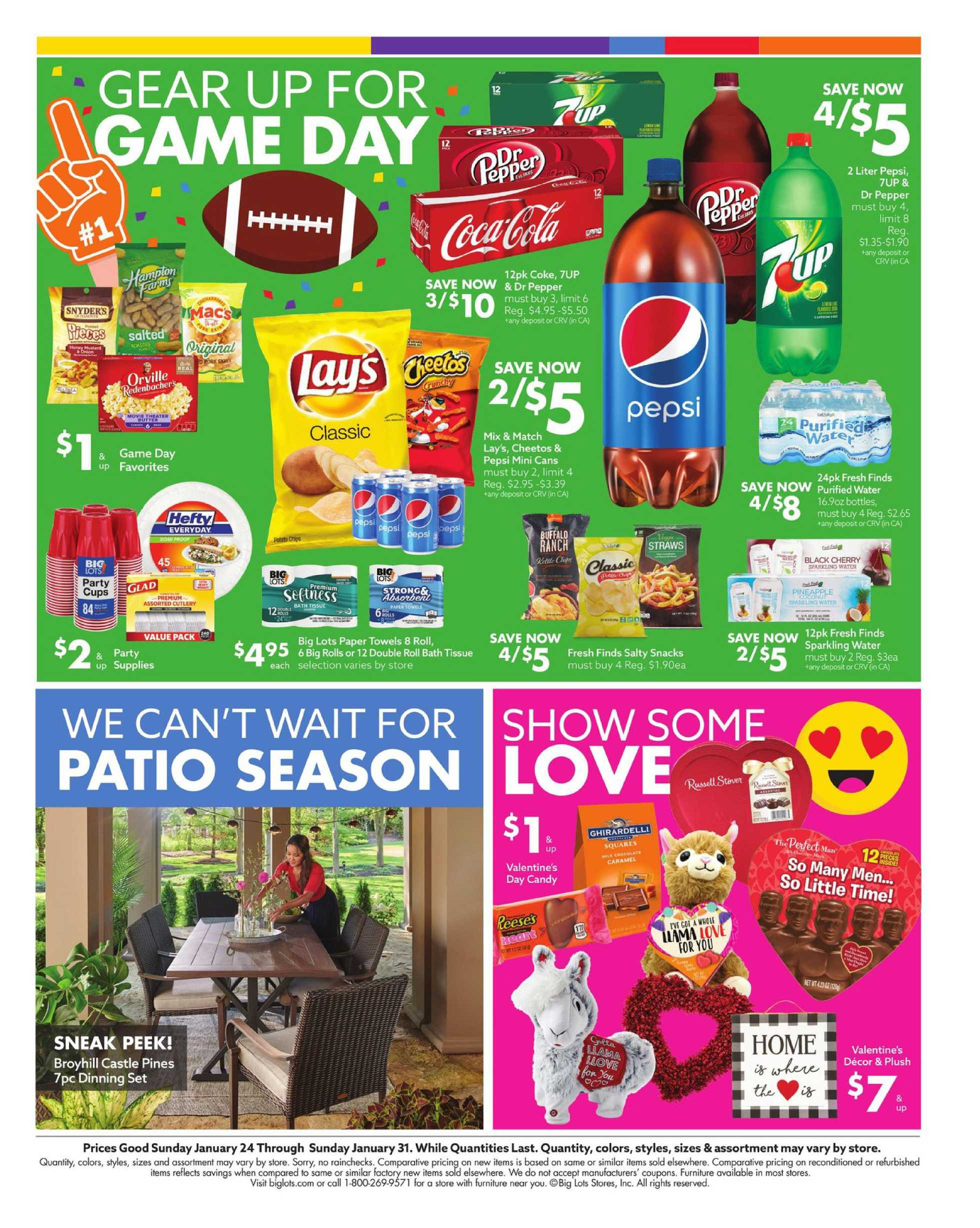 Big Lots - deals are valid from 01/24/21 to 01/31/21 - page 2.