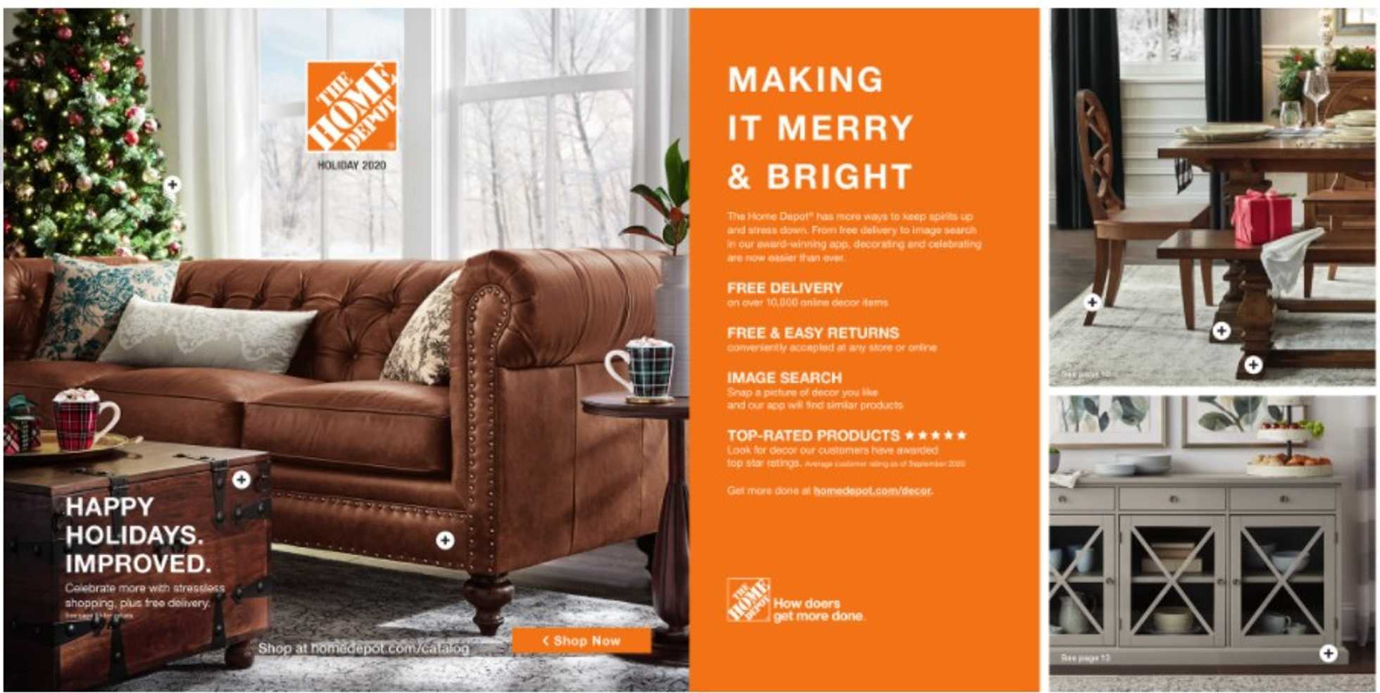The Home Depot - deals are valid from 10/16/20 to 12/25/20 - page 1.