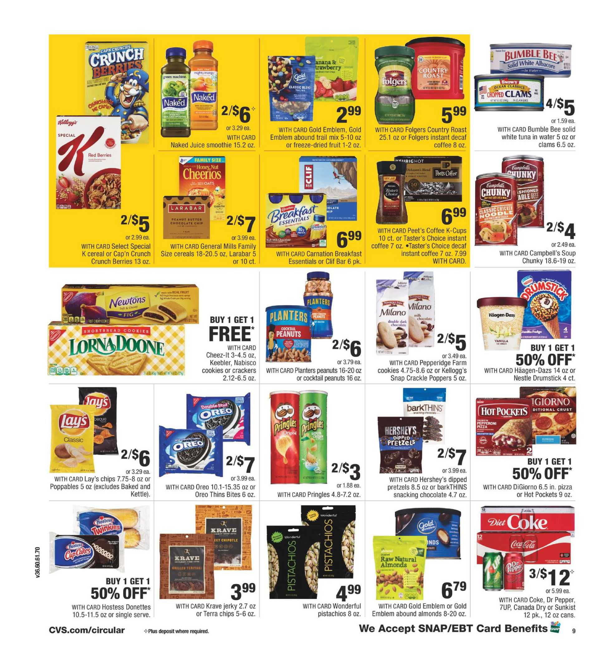 CVS - deals are valid from 05/31/20 to 06/06/20 - page 3.
