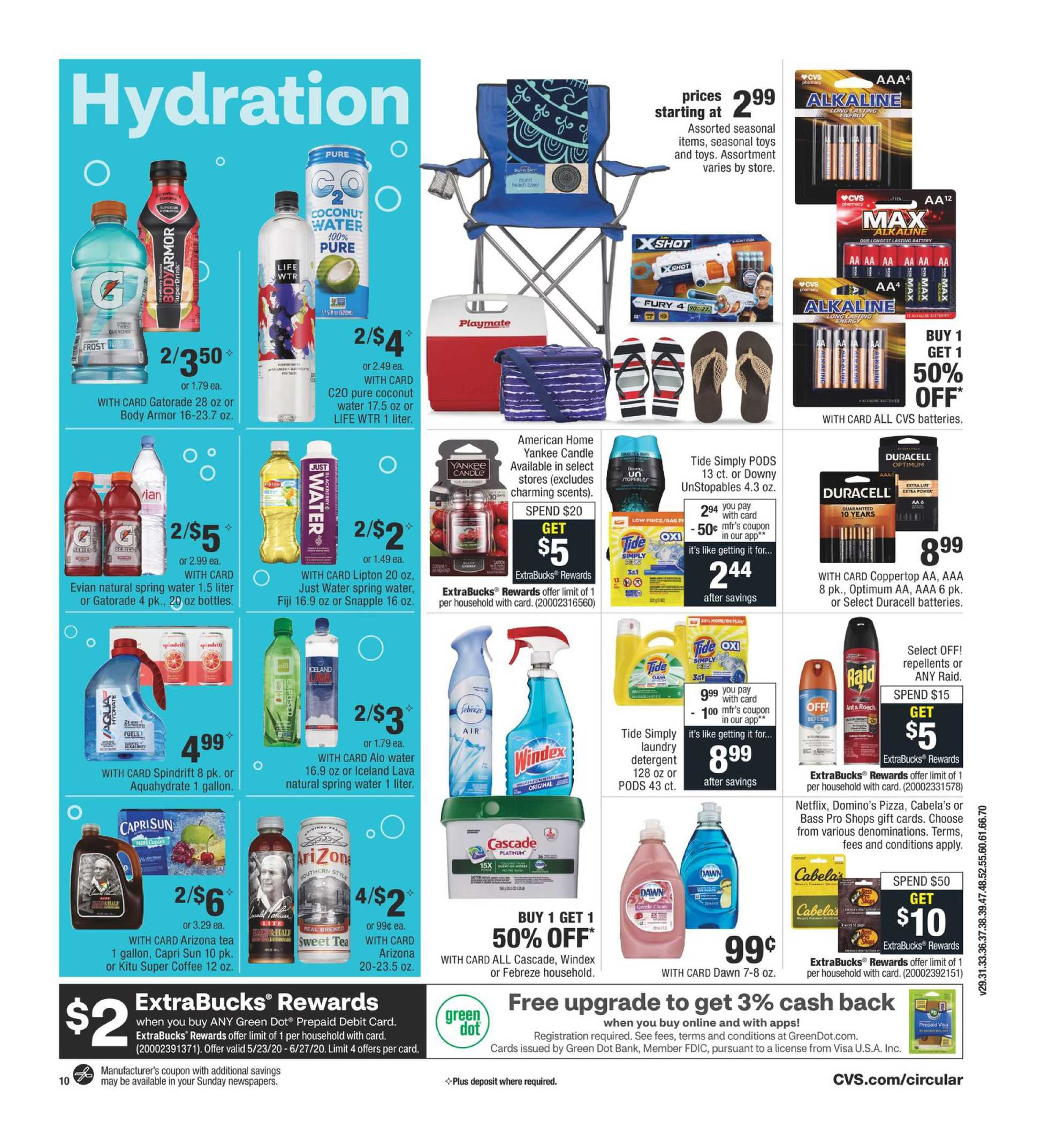 CVS - deals are valid from 05/31/20 to 06/06/20 - page 4.