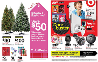 Target - promo starting from 11/28/19 to 11/30/19 - page 26. The promotion includes rea, irobot, bis