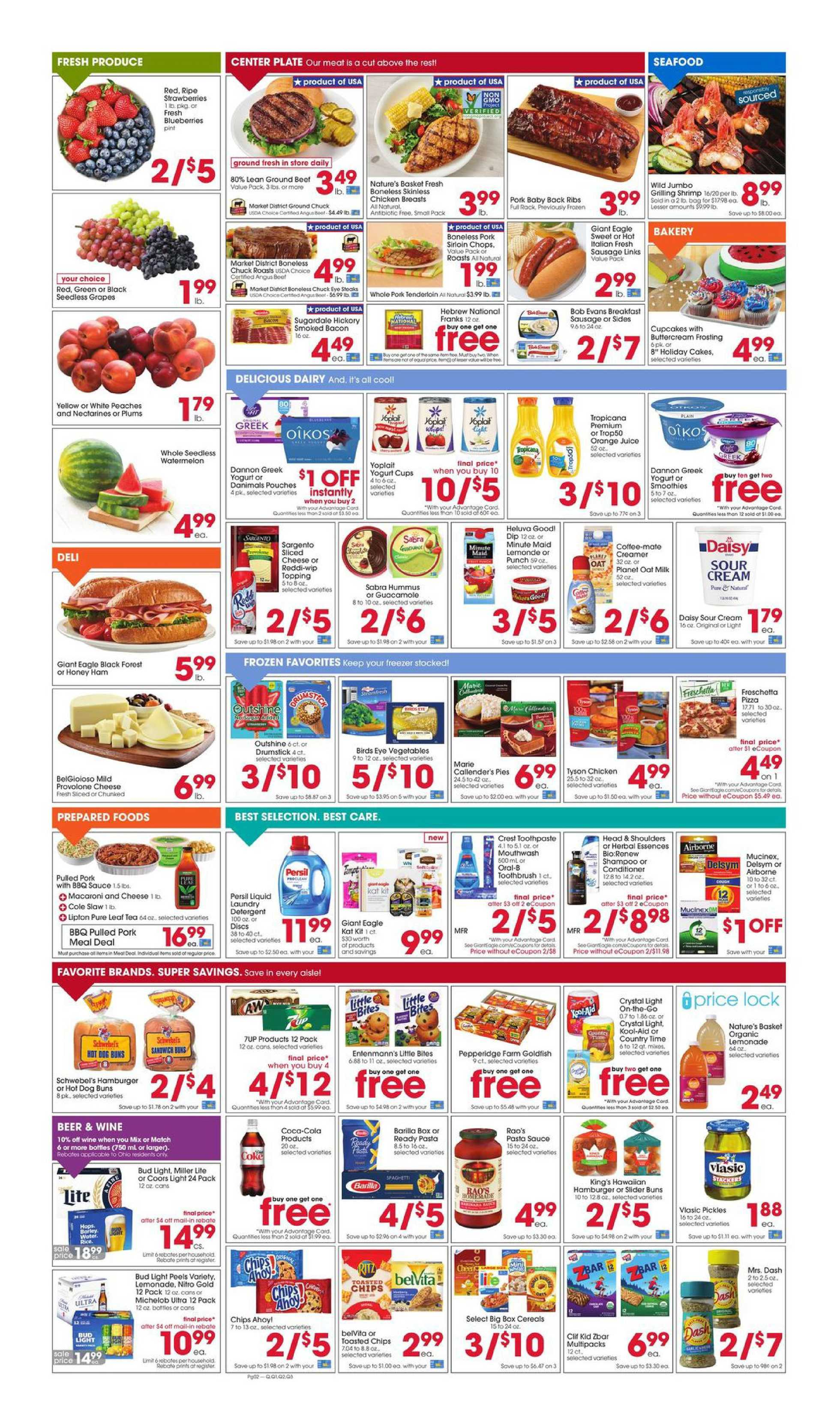 Giant Eagle - deals are valid from 09/03/20 to 09/09/20 - page 2.