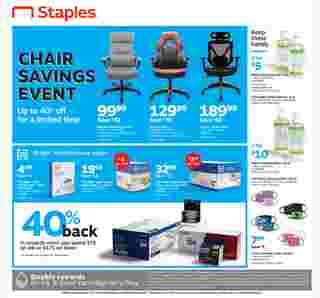Staples - deals are valid from 08/09/20 to 08/15/20 - page 9.