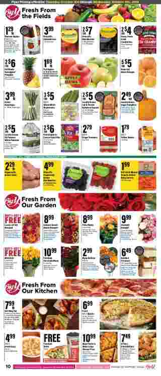 Big Y - deals are valid from 10/03/19 to 10/09/19 - page 12.