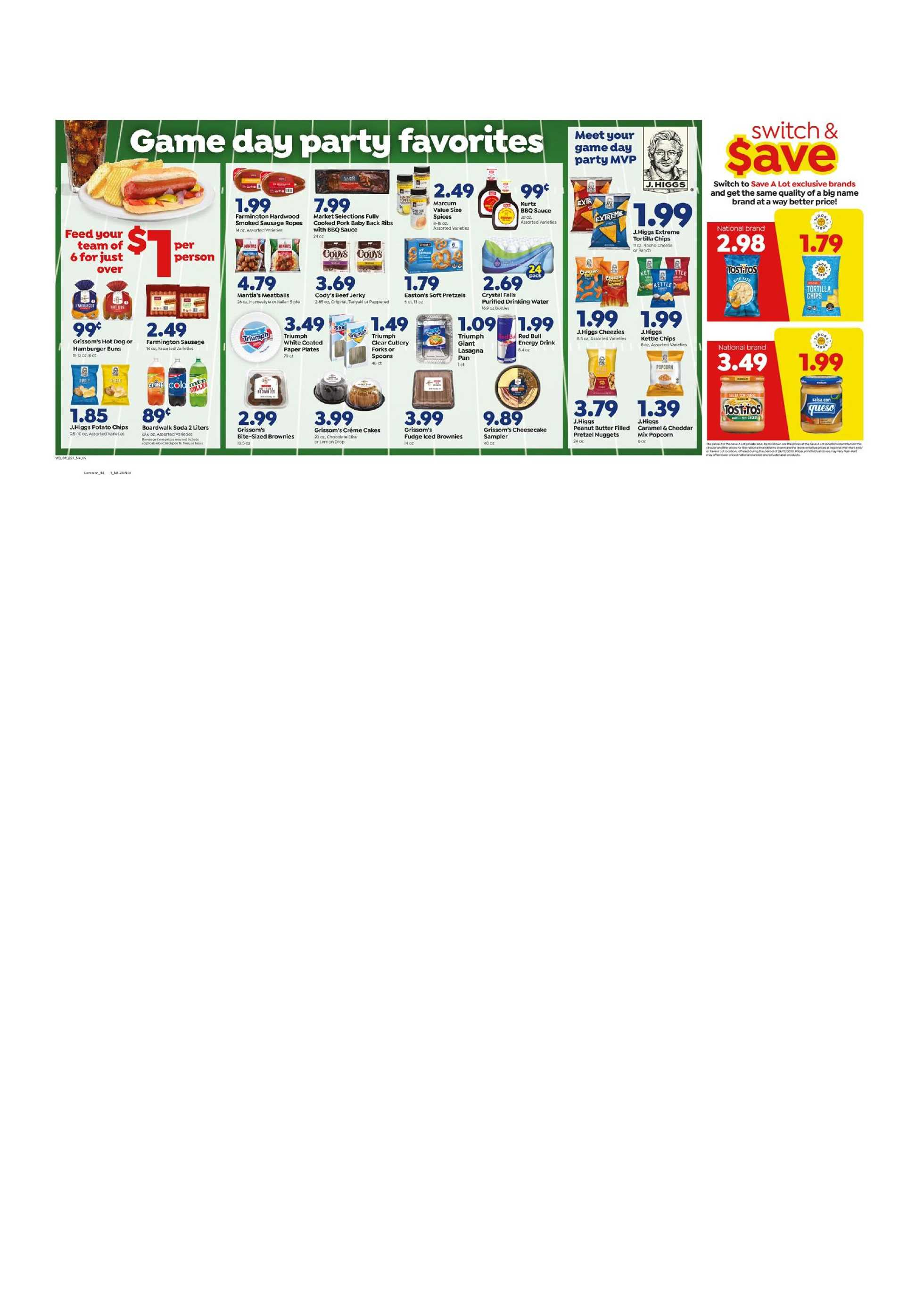 Save-A-Lot - deals are valid from 09/16/20 to 09/22/20 - page 2.