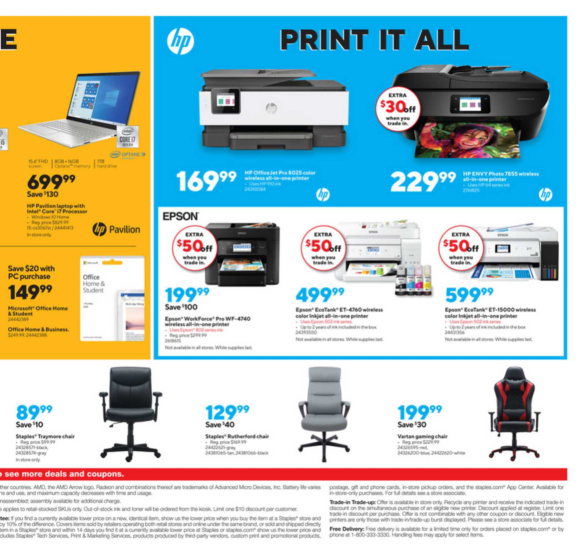 Staples - deals are valid from 09/13/20 to 09/19/20 - page 4.