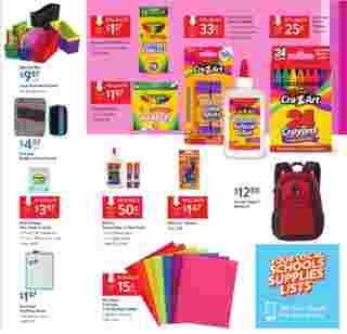 Walmart - deals are valid from 08/11/19 to 08/29/19 - page 20.