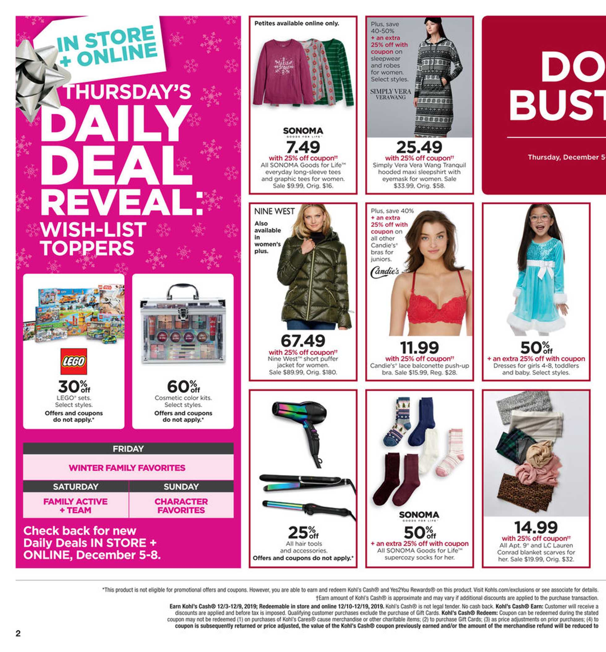 Kohl's - deals are valid from 12/05/19 to 12/09/19 - page 2.