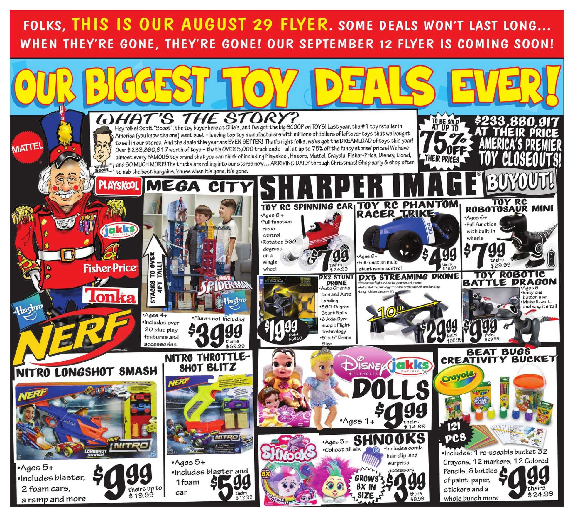 Ollie's Bargain Outlet - deals are valid from 08/29/19 to 09/05/19 - page 3.